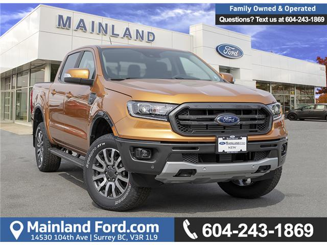 2019 Ford Ranger Lariat (Stk: 9RA6372) in Vancouver - Image 1 of 30