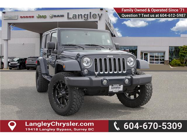 2016 Jeep Wrangler Unlimited Sahara (Stk: K559796AA) in Surrey - Image 1 of 26