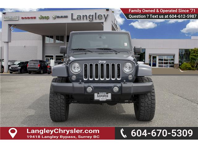 2016 Jeep Wrangler Unlimited Sahara (Stk: K559796AA) in Surrey - Image 2 of 26