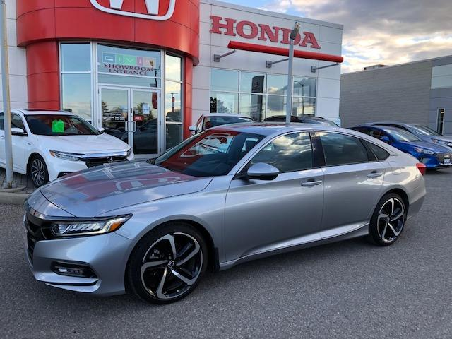 2019 Honda Accord Sport 1.5T (Stk: K1193) in Georgetown - Image 1 of 12