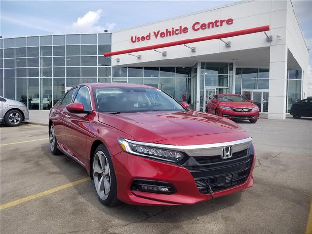 2018 Honda Accord Touring (Stk: 2180844D) in Calgary - Image 1 of 34