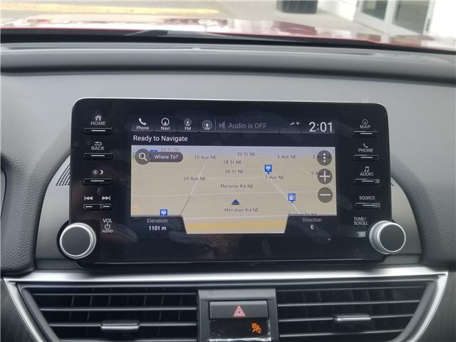 2018 Honda Accord Touring (Stk: 2180844D) in Calgary - Image 11 of 34