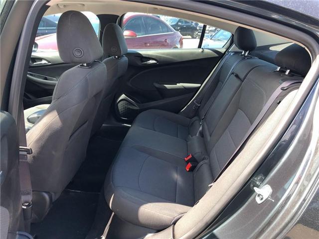 2017 Chevrolet Cruze LT|SUNROOF|REAR VIEW CAMERA|HEATED SEATS| (Stk: PA18206) in BRAMPTON - Image 10 of 15