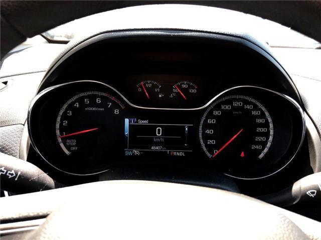 2017 Chevrolet Cruze LT|SUNROOF|REAR VIEW CAMERA|HEATED SEATS| (Stk: PA18206) in BRAMPTON - Image 12 of 15
