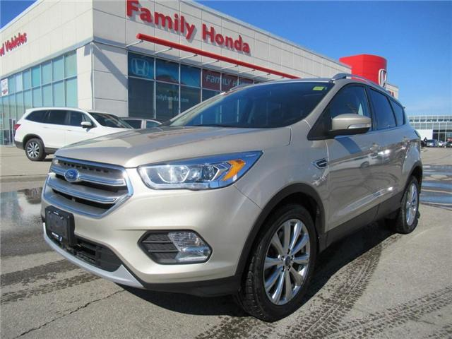 2017 Ford Escape Titanium (Stk: U03402) in Brampton - Image 1 of 30