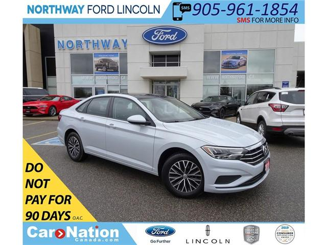 2019 Volkswagen Jetta Highline | HTD LEATHER | SUNROOF | PUSH START | (Stk: DR191) in Brantford - Image 1 of 39