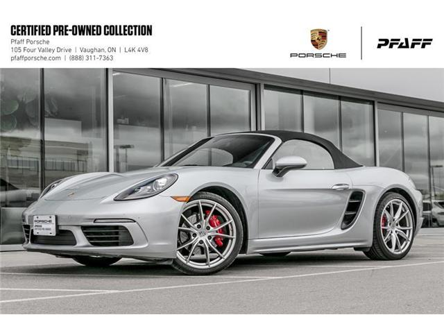 2017 Porsche 718 Boxster S PDK (Stk: P13174A) in Vaughan - Image 1 of 22