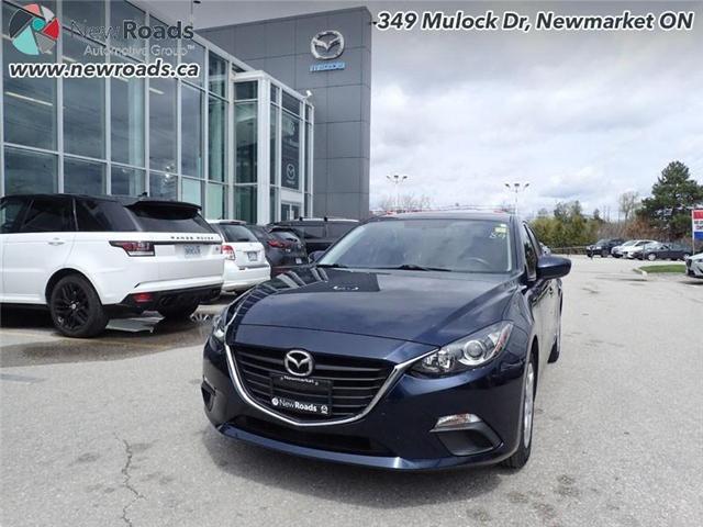 2015 Mazda Mazda3 GX (Stk: 14183) in Newmarket - Image 1 of 30