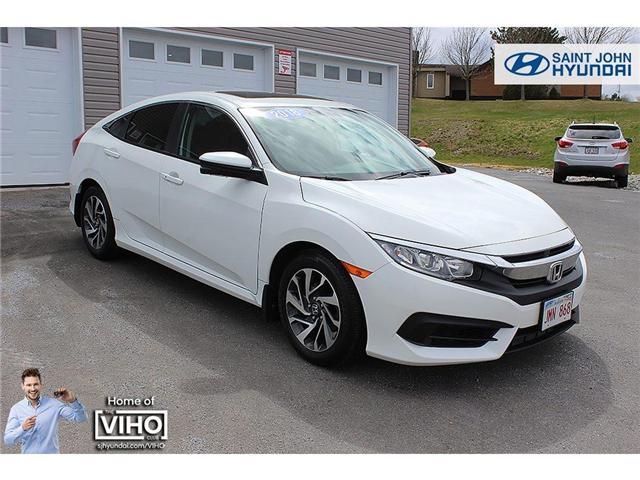2016 Honda Civic EX (Stk: 96771A) in Saint John - Image 1 of 19