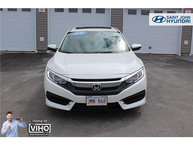 2016 Honda Civic EX (Stk: 96771A) in Saint John - Image 2 of 19
