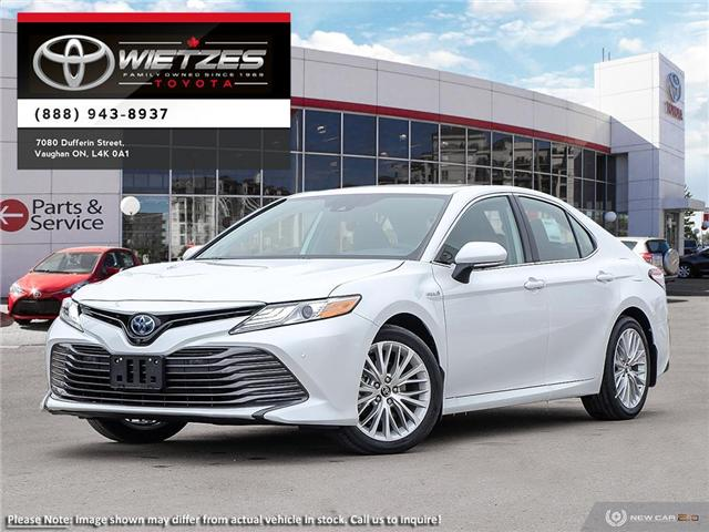 2019 Toyota Camry Hybrid XLE (Stk: 68722) in Vaughan - Image 1 of 24