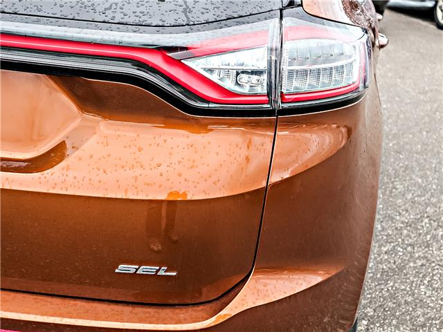 2017 Ford Edge SEL (Stk: KL508643A) in Bowmanville - Image 14 of 27