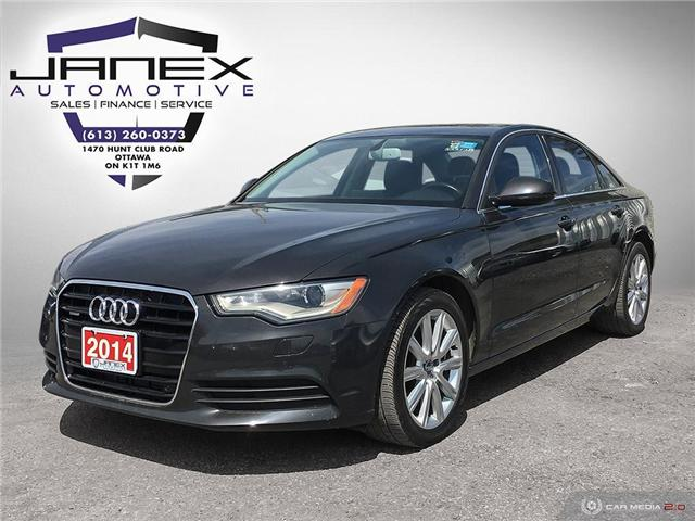 2014 Audi A6 TDI Progressiv (Stk: 18470) in Ottawa - Image 1 of 27