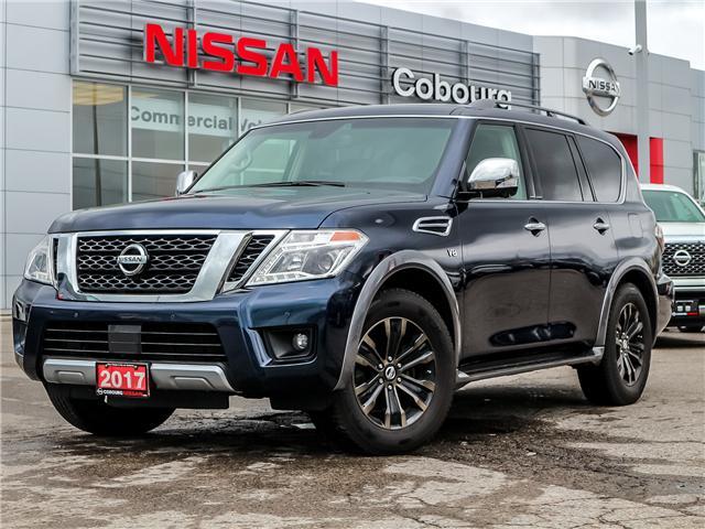 2017 Nissan Armada Platinum (Stk: K9583292A) in Cobourg - Image 1 of 35