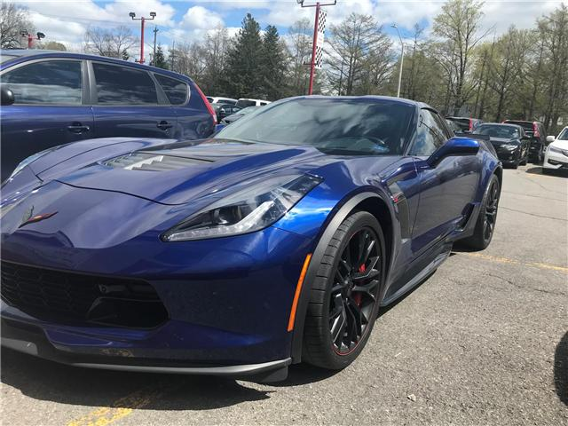 2017 Chevrolet Corvette Z06 (Stk: H66570) in Ottawa - Image 1 of 8