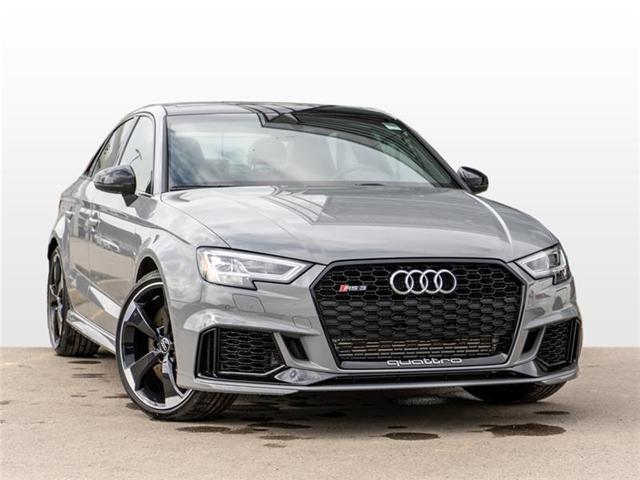 2019 Audi RS 3 2.5T (Stk: N5263) in Calgary - Image 1 of 18