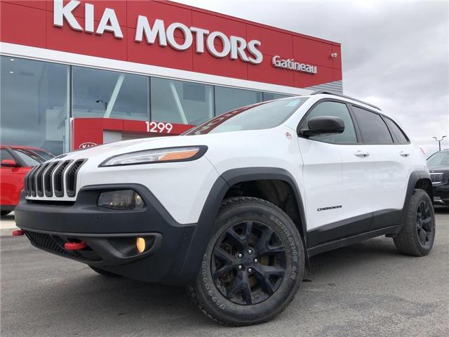 2016 Jeep Cherokee Trailhawk (Stk: 20066A) in Gatineau - Image 1 of 21