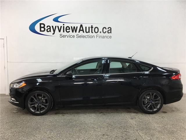 2018 Ford Fusion SE (Stk: 34897R) in Belleville - Image 1 of 21