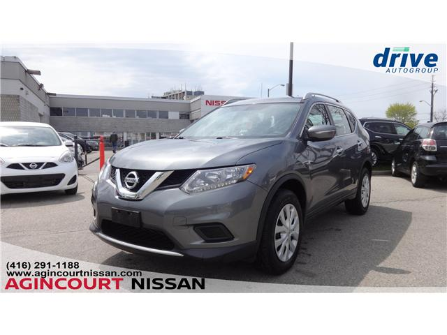 2015 Nissan Rogue S (Stk: U12501) in Scarborough - Image 1 of 19