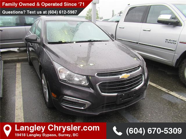 2015 Chevrolet Cruze DIESEL (Stk: EE902340A) in Surrey - Image 1 of 1