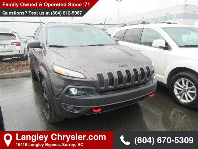 2018 Jeep Cherokee Trailhawk (Stk: EE908770) in Surrey - Image 1 of 1
