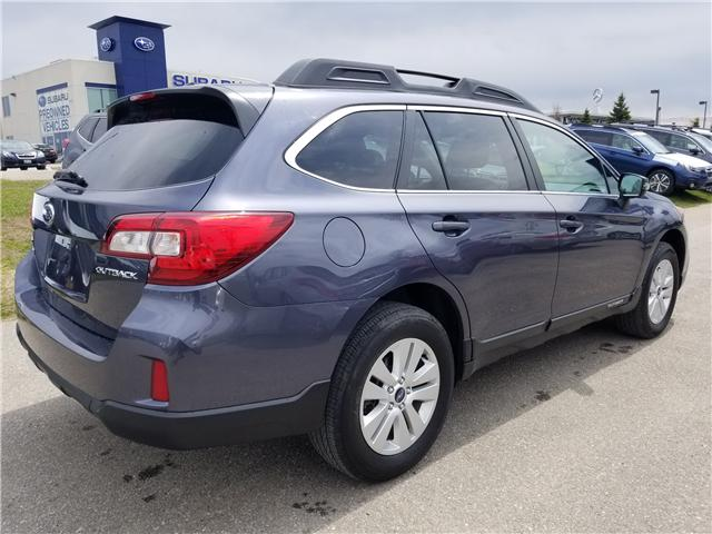 2016 Subaru Outback 2.5i Touring Package (Stk: SUB1431) in Innisfil - Image 5 of 17
