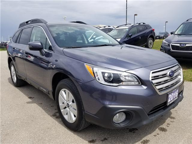 2016 Subaru Outback 2.5i Touring Package (Stk: SUB1431) in Innisfil - Image 3 of 17