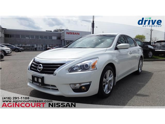 2015 Nissan Altima 2.5 SV (Stk: U12514) in Scarborough - Image 1 of 23