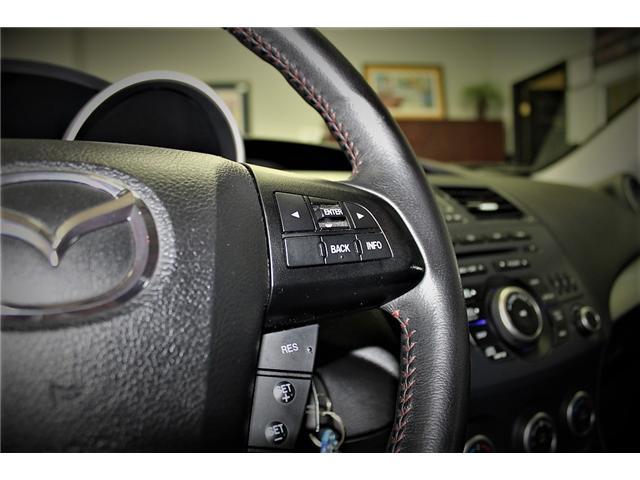 2013 Mazda MazdaSpeed3 MSP3 (Stk: -) in Bolton - Image 18 of 24
