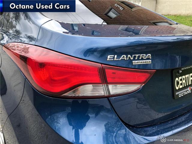 2015 Hyundai Elantra Sport Appearance (Stk: ) in Scarborough - Image 11 of 25