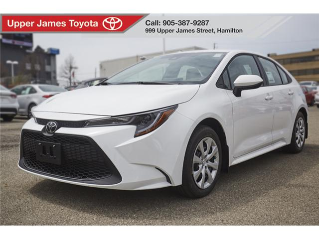 Upper James Toyota >> 2020 Toyota Corolla LE at $73 wk for sale in Hamilton - Upper James Toyota