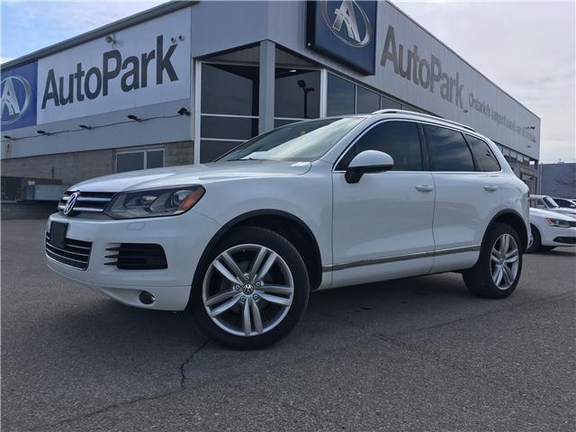 2012 Volkswagen Touareg 3.0 TDI Highline (Stk: 12-06861JB) in Barrie - Image 1 of 30