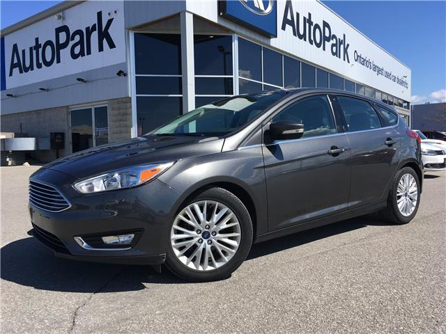 2018 Ford Focus Titanium (Stk: 18-90206RJB) in Barrie - Image 1 of 28