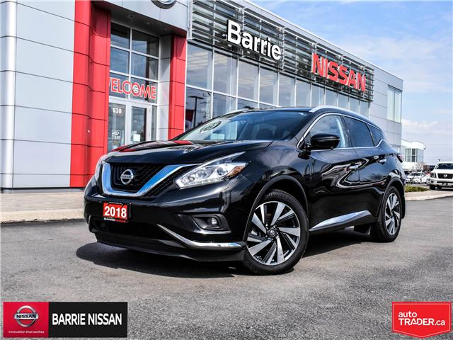2018 Nissan Murano Platinum (Stk: P4562) in Barrie - Image 1 of 29
