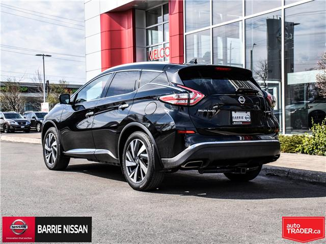 2018 Nissan Murano Platinum (Stk: P4562) in Barrie - Image 4 of 29