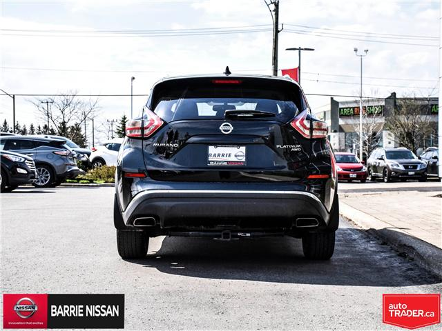 2018 Nissan Murano Platinum (Stk: P4562) in Barrie - Image 5 of 29
