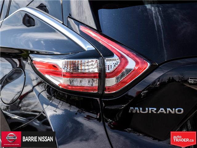 2018 Nissan Murano Platinum (Stk: P4562) in Barrie - Image 9 of 29