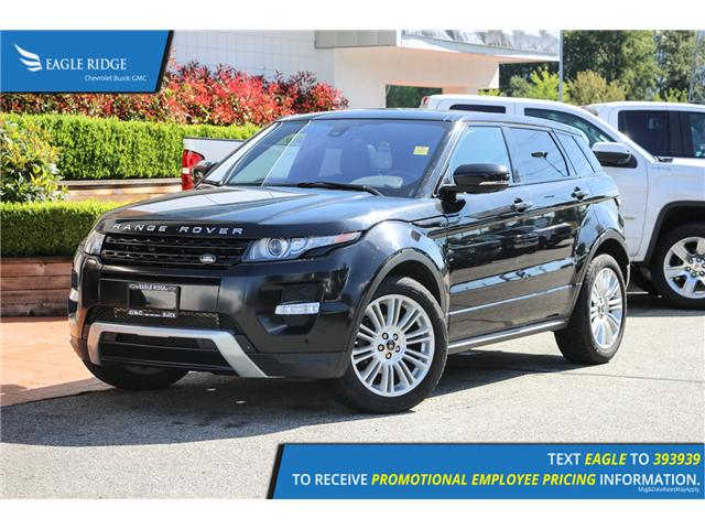 2013 Land Rover Range Rover Evoque Pure (Stk: 139997) in Coquitlam - Image 1 of 18