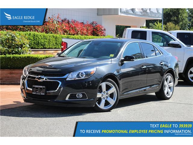 2015 Chevrolet Malibu 2LZ (Stk: 159690) in Coquitlam - Image 1 of 16