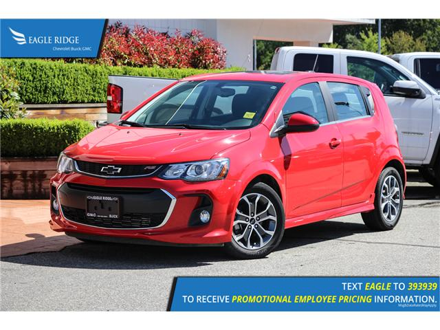 2018 Chevrolet Sonic LT Auto (Stk: 189629) in Coquitlam - Image 1 of 16