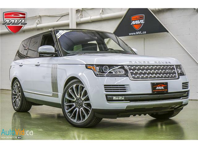 2016 Land Rover Range Rover 5.0L V8 Supercharged Autobiography (Stk: ) in Oakville - Image 2 of 35