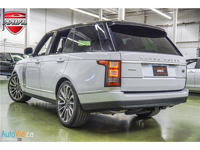 2016 Land Rover Range Rover 5.0L V8 Supercharged Autobiography (Stk: ) in Oakville - Image 6 of 35