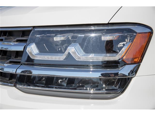 2019 Volkswagen Atlas 3.6 FSI Execline (Stk: KA505125) in Vancouver - Image 10 of 30