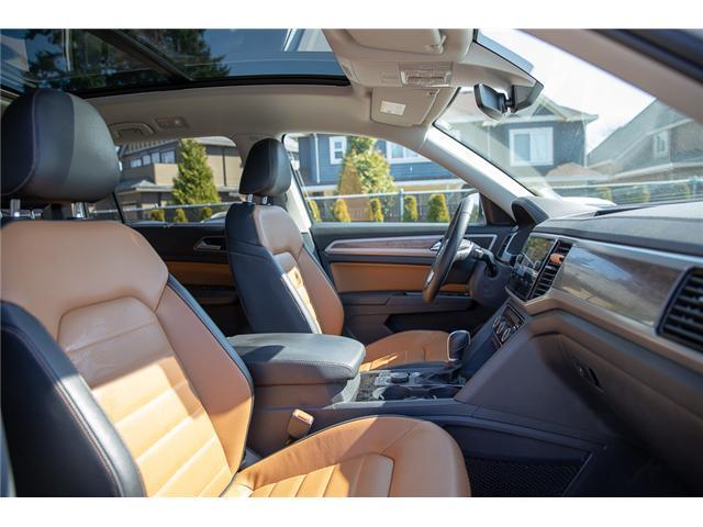 2019 Volkswagen Atlas 3.6 FSI Execline (Stk: KA505125) in Vancouver - Image 27 of 30