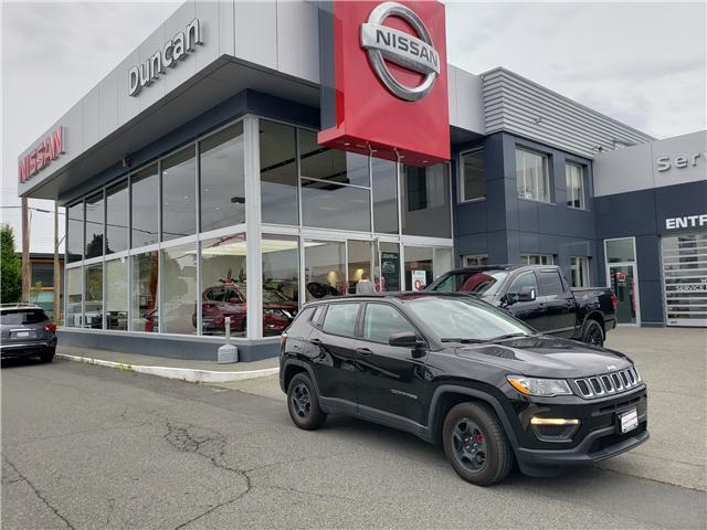 2017 Jeep Compass Sport (Stk: 9Q0834A) in Duncan - Image 1 of 5