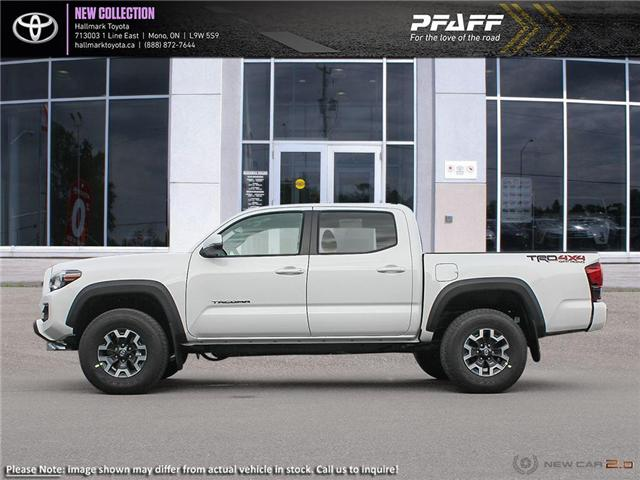 2019 Toyota Tacoma 4x4 Double Cab V6 TRD Off-Road 6A (Stk: H19438) in Orangeville - Image 3 of 24
