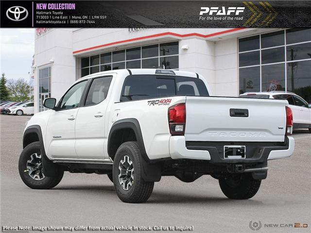 2019 Toyota Tacoma 4x4 Double Cab V6 TRD Off-Road 6A (Stk: H19438) in Orangeville - Image 4 of 24