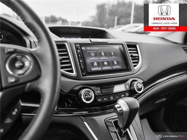2016 Honda CR-V Touring (Stk: 19568C) in Cambridge - Image 20 of 27