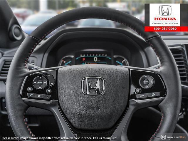 2019 Honda Pilot Black Edition (Stk: 19826) in Cambridge - Image 14 of 24