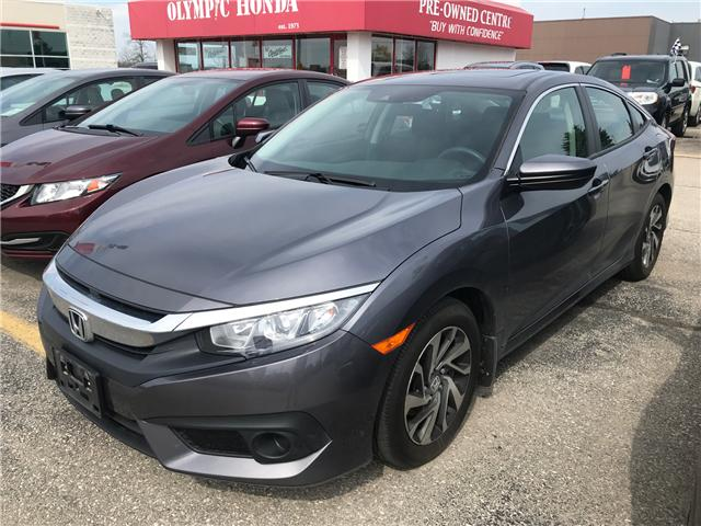 2018 Honda Civic EX (Stk: V8738A) in Guelph - Image 1 of 1